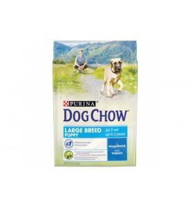 Dog Chow, Puppy, корм д/щенков крупных пород (индейка)