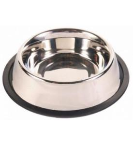 Аква-Энимал, миска металлическая на резинке (0,25-0,31л.)