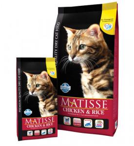 Farmina, Matisse, Adult, корм д/кошек (курица/рис)