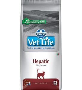 Farmina, Vet Life, Hepatic, корм д/кошек (заболевания печени)