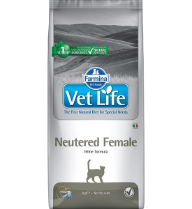 Farmina, Vet Life, Neutered Female, корм д/кошек (стерилизованные)