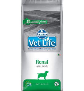 Farmina, Vet Life, Renal, корм д/собак (заболевания почек)