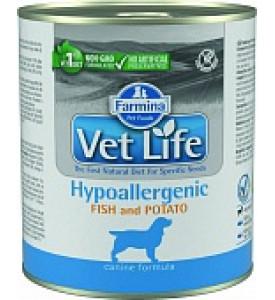 Farmina, Hypoallergenic, влажный корм д/собак (рыба/картофель)