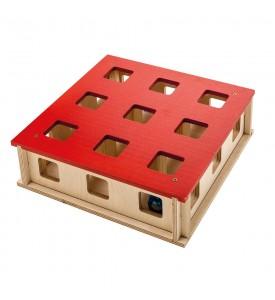 Ferplast, Magic Box, игрушка для кошек из дерева (27x27х8,5 см.)