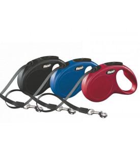Flexi, New Classic, L, рулетка д/собак лента (5 метров, до 50 кг.)