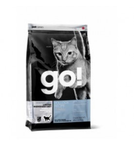 GO!, Sensitivity+Shine, корм д/кошек и котят (минтай)