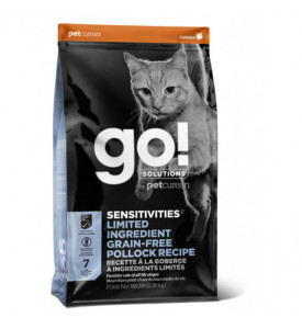 GO!, Sensitivities, корм д/кошек и котят (минтай)