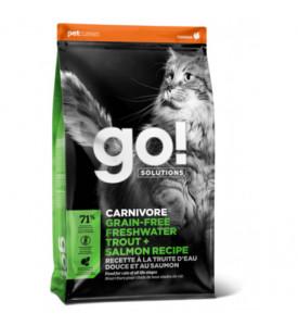 GO!, Carnovore GF, корм д/кошек и котят (форель/лосось)