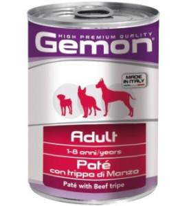 Gemon, Adult, влажный корм д/собак паштет (говяжий рубец)