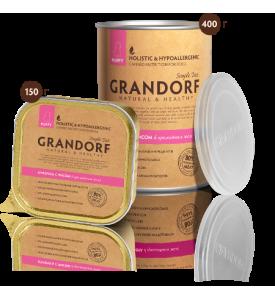 Grandorf, курица, влажный корм д/щенков