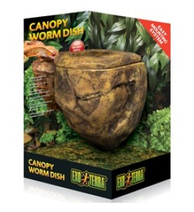 Hagen, Exo-Terra, Canopy Worm Dish, навесная кормушка-камень