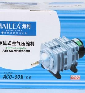 Hailea, ACO-308, компрессор профессиональный, 22W, 45 л/мин