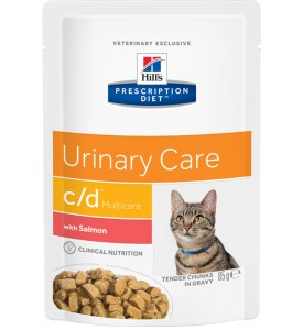Hill's, PD, C/D, влажный корм д/кошек лечение и проф. МКБ (курица)