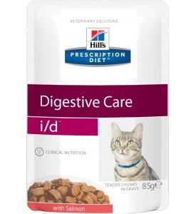Hill's, PD, I/D, влажный корм д/кошек проблемы ЖКТ (лосось)