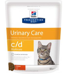 Hill's, PD, C/D, корм д/кошек лечение и проф. МКБ (курица)