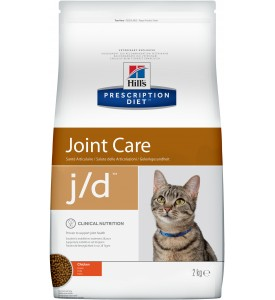 Hill's, PD, J/D, корм д/кошек при заболеваниях суставов