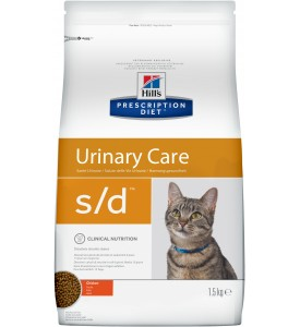Hill's, PD, S/D, корм д/кошек для растворения струвитов
