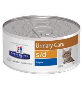 Hill's, PD, S/D, влажный корм д/кошек растворение струвитов