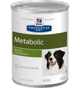 Hill's, PD, Metabolic, влажный корм д/собак для коррекции веса