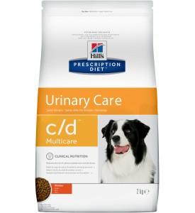 Hill's, PD, C/D, корм д/собак при лечение и профилактика МКБ