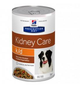 Hill's, PD, k/d, влажный корм д/кошек лечение почек (курица)