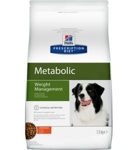 Hill's, PD, Metabolic, корм д/собак для коррекции веса