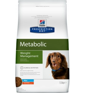 Hill's, PD, Metabolic, корм д/собак мини пород коррекция веса