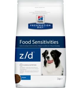 Hill's, PD, Z/D Ultra, корм д/собак при аллергии