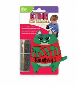 """Kong holiday, игрушка """"Коты"""", с тубом кошачьей мяты д/кошек  10 см"""