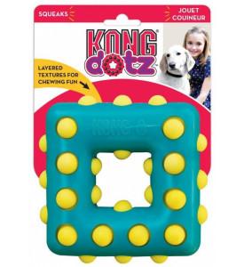 """Kong Dotz, """"Квадрат малый"""" игрушка  д/собак 9 см"""