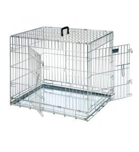 Karlie-Flamingo, клетка д/собак, 2 двери, цинк (107x68x75 см.)