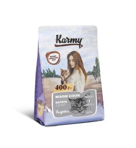 Karmy, Kitten Maine Coon, корм д/котят породы Мэйн Кун (Индейка)