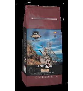 Landor, Fish&Rice, корм д/кошек (рыба/рис)