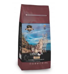 Landor, Hairball & Weight Control, корм д/кошек (ягненок/картофель)