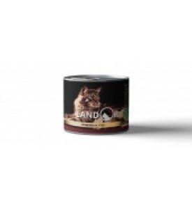 Landor, Adult, влажный корм д/кошек (индейка/утка)