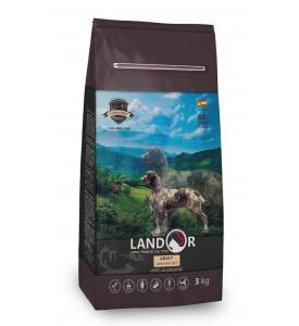 Landor, Adult, корм д/собак всех пород (ягненок/рис)