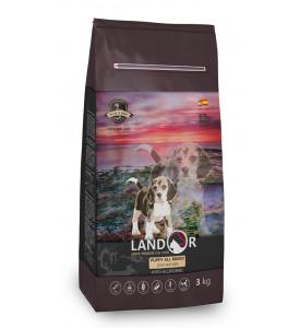Landor, Puppy, корм д/щенков всех пород (утка/рис)