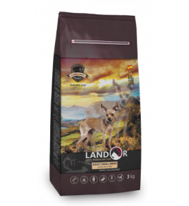 Landor, Adult, корм д/собак мелких пород (ягненок/рис)