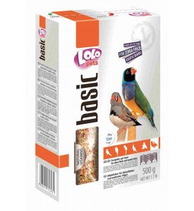 LoLo Pets, Zebra Finch Exotic Birds Food Complete, корм для амадин
