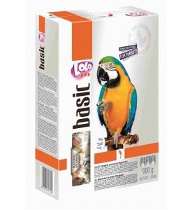 LoLo Pets, Parrots Food Complete, корм для крупных попугаев