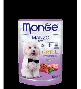 Monge, Grill, влажный корм д/собак (говядина)