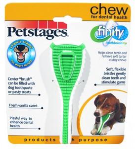 Petstages, Finity Dental Chew зубная щетка маленькая, игрушка для собак, 11 см
