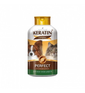 Rolf Club Keratin+ Beauty шампунь для всех типов шерсти кошек и собак, 400 мл