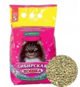 Сибирская кошка, Комфорт, наполнитель минеральный (впит.)