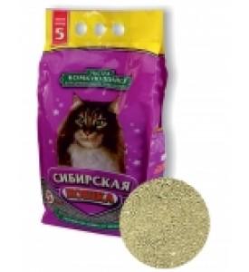 Сибирская кошка, Экстра, наполнитель минеральный (комк.)