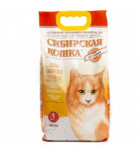 Сибирская кошка, Оптима, наполнитель минеральный (комк.)