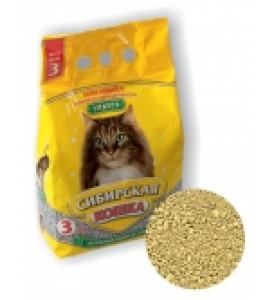 Сибирская кошка, Ультра, наполнитель минеральный (комк.)