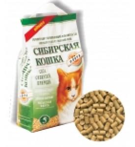 Сибирская кошка, Флора, наполнитель древесный
