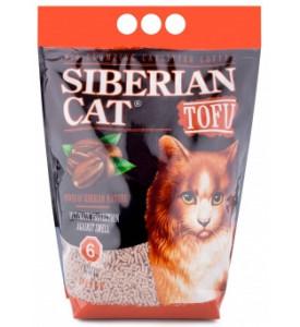 Сибирская кошка, Tofu Кофе, наполнитель биоразл./комкующ.