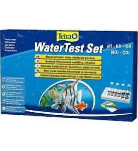 Tetra, Test, WaterTest Set, набор тестов (pH,GH,KH,NO2,CO2)